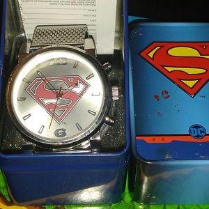 Superman wrist Watch...DC Comics